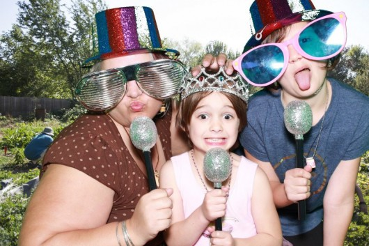 lucy alice amy bugs party